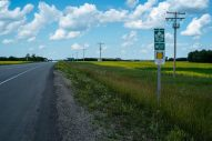 yellowhead hwy, partly my guide through the plains