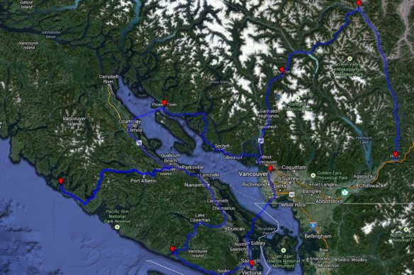 making plans in hope: a little detour to vancouver :)